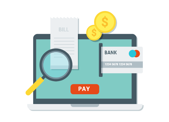 Bill Payments retail shop accounting software