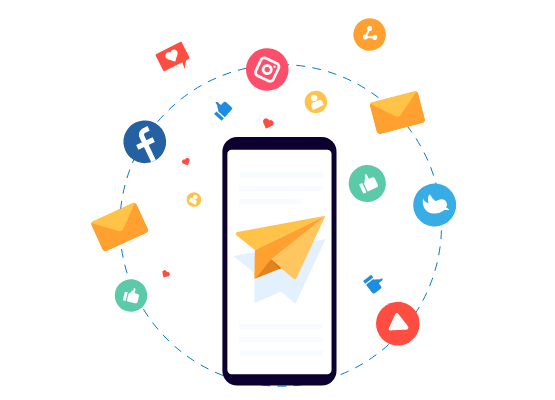 Reach Out to Your Prospective Consumers with Creative Email and Social Media Marketing Services