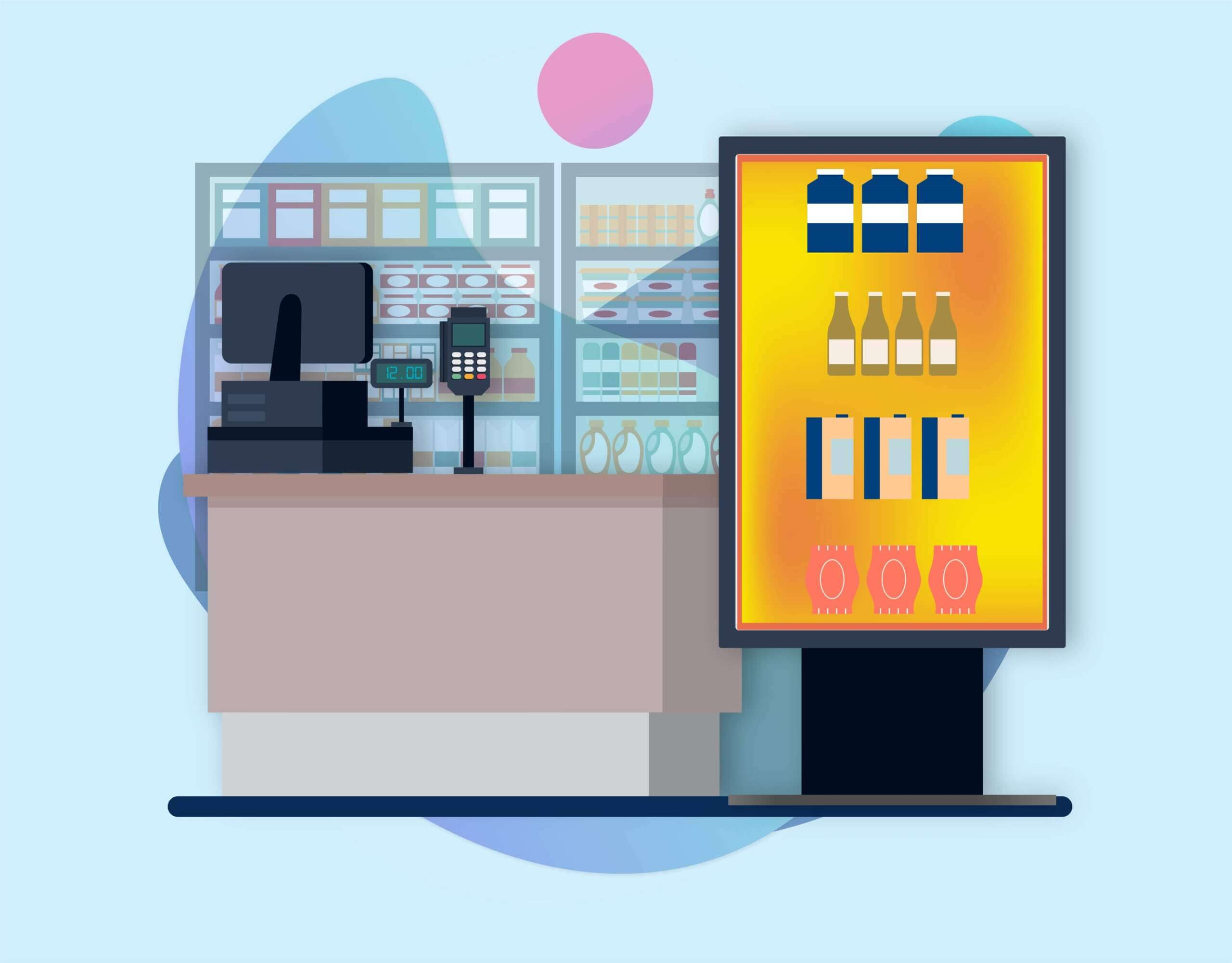 Convenience Store Digital Signage Solutions